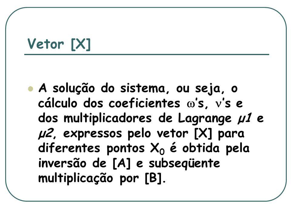 Vetor [X]